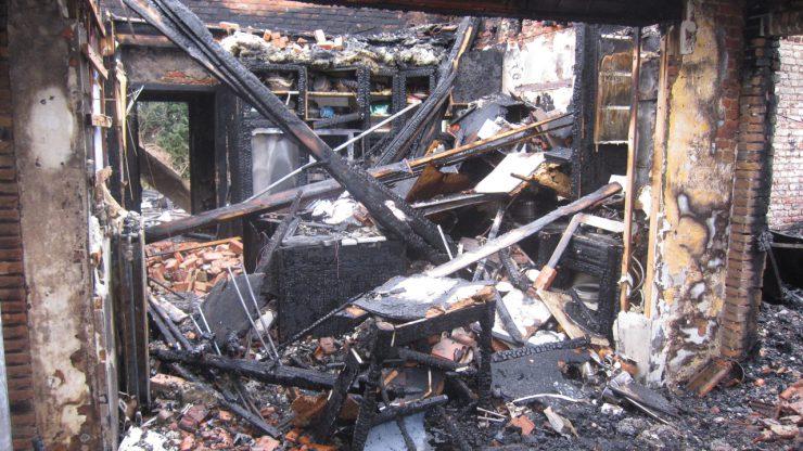 woningbranden gebruikt een tegenexpert